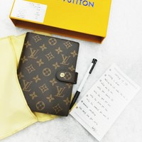 LV tide brand wild casual bookkeeping notebook