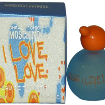 Women Moschino I Love Love Cheap And Chic EDT Splash (Mini) 4.9 ml Case Pack 3