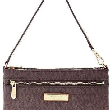 MICHAEL Michael Kors Jet Set Travel Large Logo Wristlet