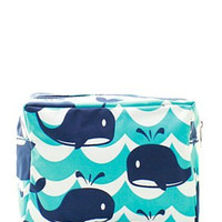 Splash Whale Cosmetic Bag
