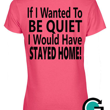 CUSTOM Loud Fan Ladies V Neck T Shirt -- Loud Cheering Parent? This is for you!! Perfect for any sport!