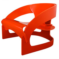 Joe Colombo 4801 Lounge Chair for Kartell