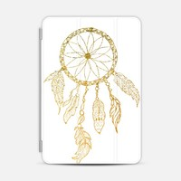 DREAMCATCHER IN GOLD AND WHITE - IPAD PHOTO COVER iPad Mini 1/2/3 case by Nika Martinez | Casetify