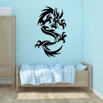 Dragon Ornament Wall Decal