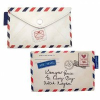 Paper Plane Air Mail Coin Purse - Gifts For Her from the gifted penguin UK