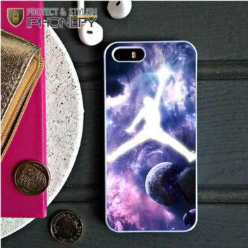 CREYUG7 Michael Jordan In Galaxy Nebula iPhone 5C Case|iPhonefy