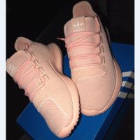ADIDAS Fashion Leisure  Comfortable shoes Tubular shadow Sport shoes Nude-Pink