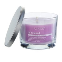 SONOMA life + style ''be relaxed'' 4.8-ounce Jar Candle