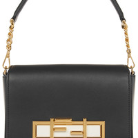 Fendi -  Baguette leather shoulder bag