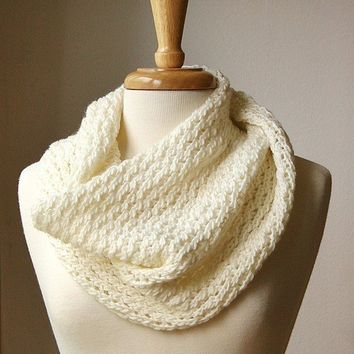 Shop Knit Cowl Scarf Pattern On Wanelo
