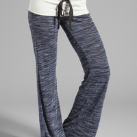 Tylie Space Dyed Pants in Navy from REVOLVEclothing.com