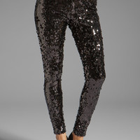 BLAQUE LABEL Sequined Legging in Black from REVOLVEclothing.com
