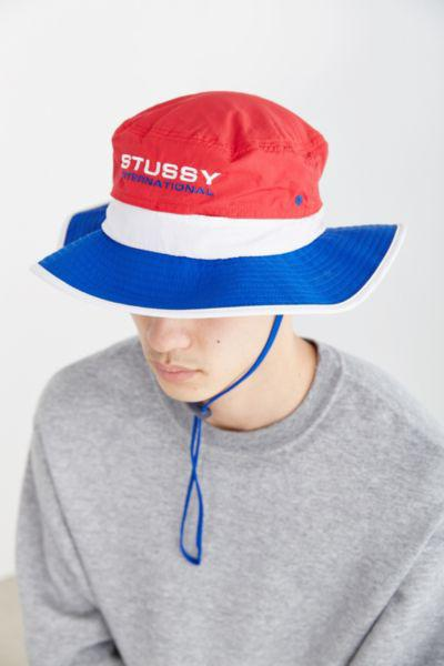 9e16ac40c24 Stussy 3-Tone Boonie Hat- Blue from Urban Outfitters