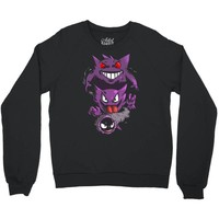 pokemon the ghost Crewneck Sweatshirt