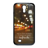 EVA Perks Of Being A Wallflower Samsung Galaxy S4 I9500 Case,Snap-On Protector Hard Cover for Galaxy s4