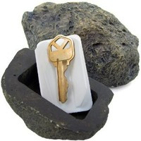 Trademark Tools 72-0263 Hide-A-Key Realistic Rock Outdoor Key Holder-As Seen on TV - Amazon.com