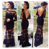 Lace embroidered dress AA1119CD