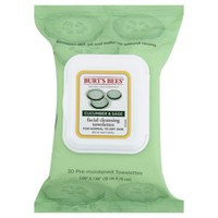 Burt's Bees® 25-Count Facial Cleansing Towelettes in Cucumber and Sage