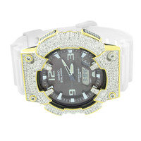 Mens Casio Watch AQS810WC-7A Custom Bezel