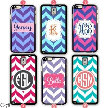Chevron iPhone 6 case Customize Samsung Galaxy Note 2 cover 4S 5S 5C S4 S3