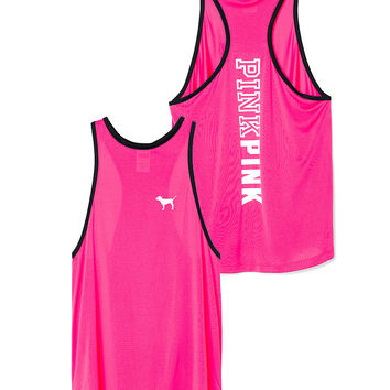 Synthetic High Neck Tank - PINK - Victoria's Secret