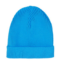 Blue Turnup Beanie Hat - Hats - Bags & Accessories - Topshop USA