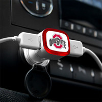 Ohio State Buckeyes USB Car Charger
