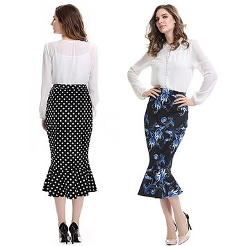 MERMAID STYLE PENCIL SKIRT