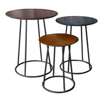 Metal End Table Set Of 3 - Moe's Home Collection