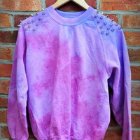 Cryptic Cult — 'MIDNIGHT' tie dye sweatshirt