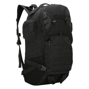 Sports gym bag Military tactical men double shoulder bag rucksack outdoor climb mountaineering wear resistant backpack oxford  pack KO_5_1