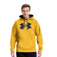 Under Armour Mens UA Storm Armour Fleece Big Logo Hoodie