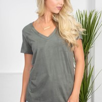 Super Soft Pocket Top | Colors