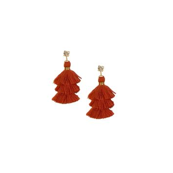 TEXAS MINI PAGODA TASSEL EARRINGS