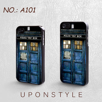 Phone Cases, iPhone 5 Case, iPhone 5s Case, iPhone 4 Case, iPhone 4s case, TARDIS Doctor Who, Police Box, Case for iphone, Case No-101