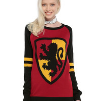 Harry Potter Gryffindor Girls Pullover Top