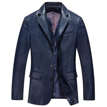 Men's Leather Jackets Costume