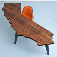 the California Desk by jrustenfurniture on Etsy