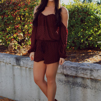Wistful Woman Romper