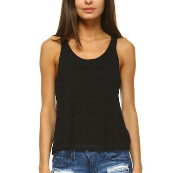 Women's Pattern Tank Top