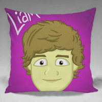 One Direction Liam Payne - Square and Regtagular Pillow Case One Side/Two Side.