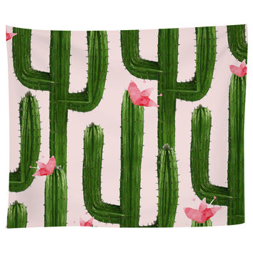 Happy Cacti Tapestry