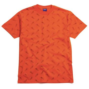 All Over Carrots T-Shirt Orange