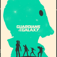 Guardians of the Galaxy Art Print by Shrimpy99