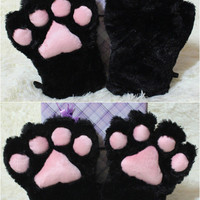 Adorable Cosplay Cat Paw Gloves For Maid Custom Props Tool  SP141193