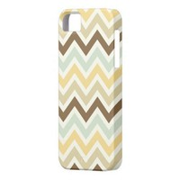 Soft Colors Zig Zag Pattern Colorful Chevron Iphone 5 Cover from Zazzle.com