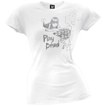 Emily The Strange - Play Dead Juniors T-Shirt