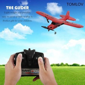 TOMLOV Remote Control Glider Toy Aerodone Foam Aircraft Airframe Battery boy toys RC helicopter