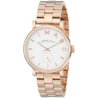 Marc Jacobs Women's MBM3244 Baker Rosetone Watch | Overstock.com Shopping - The Best Deals on Marc Jacobs Women's Watches