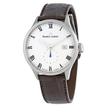 Maurice Lacroix Masterpiece Tradition Black Dial Automatic Mens Watch